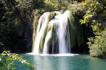 Plitvice Lakes - Waterfall