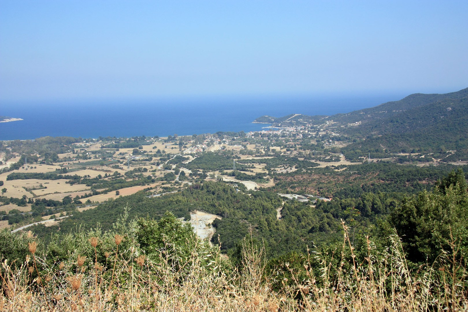 View of Halkidiki