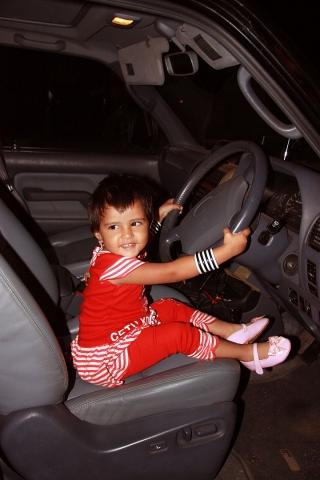 Learner driver!