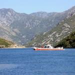 Ferry across bay