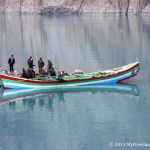 Attabad Lake - Local  Boat
