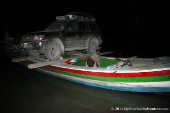 Attabad Lake night ferry