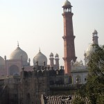 View from Lahore Fort
