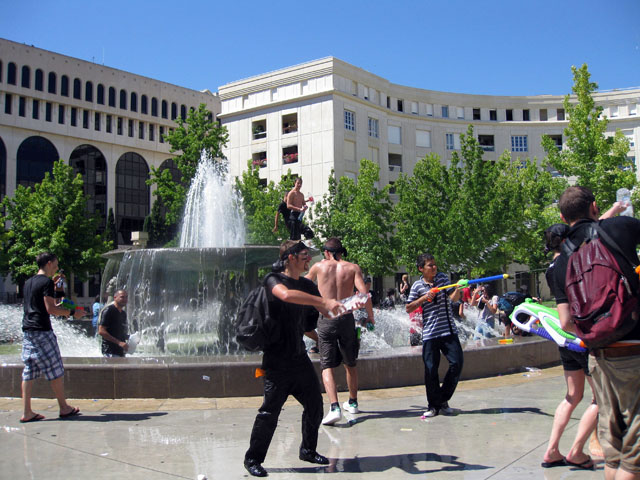 Water Fight - Montpellier