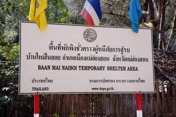 Burmese refugee area