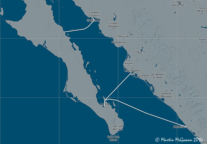 Baja all routes