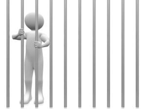 A prisoner in the jail.