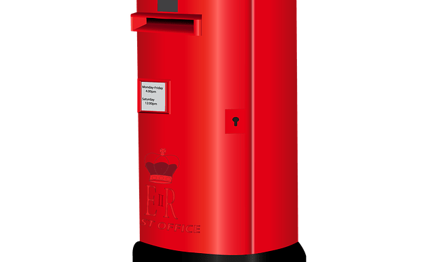 Red, Letterbox, postage