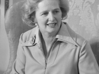 Margaret Thatcher a force