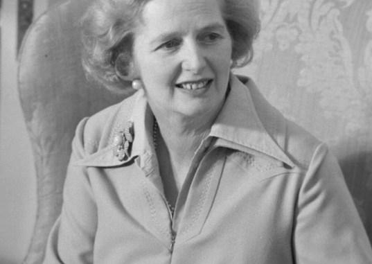 Margaret Thatcher a force