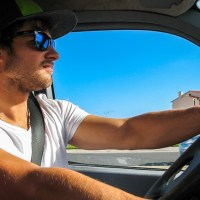 Wearing sunglasses while driving could land you with a fine