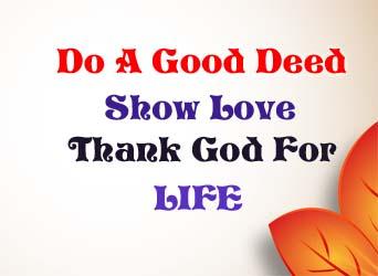Do A Good Deed 733046192098