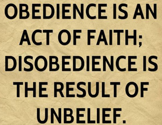 Disobedience 2298764635098763