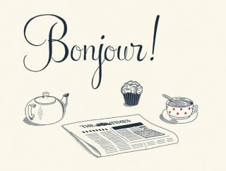 ''good morning'' in french