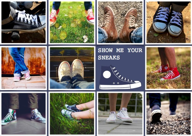 "Mood board – Mode: ""Show Me Your Sneaks"""