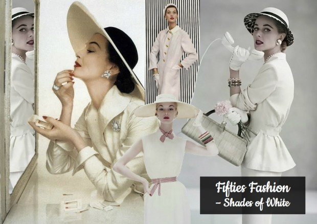 "Mood Boards – Mode: ""Fifties Fashion – Shades of White"""