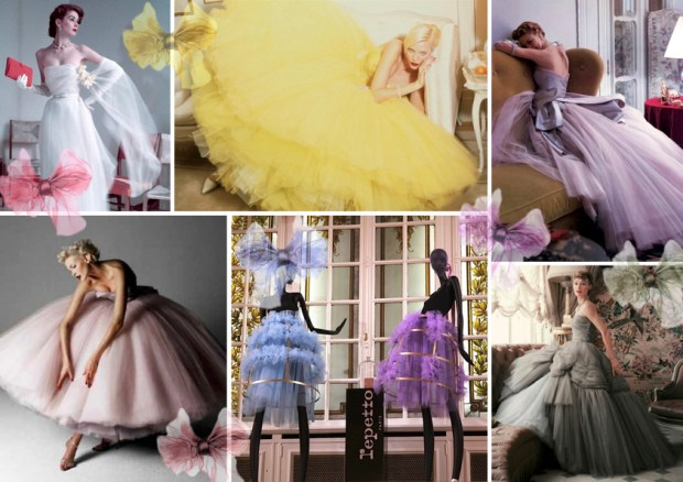 "Mood board – Mode: ""Tulle"""