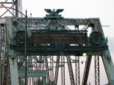 Memorial Bridge plaque