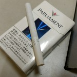 美味いたばこパーラメント(PARLIAMENT)~上質なミルクティーっぽい上品な香りを愉しむ