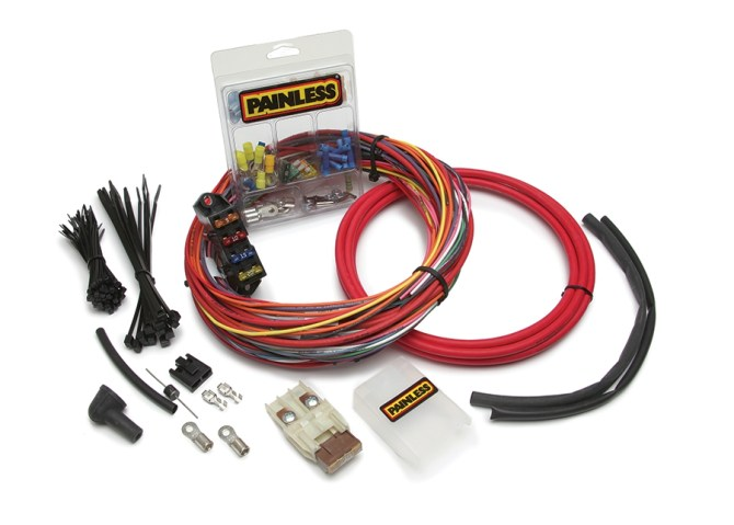 csicharge start ignition engine harness  painless