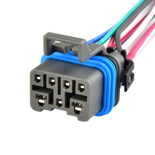 small resolution of 4l60e 4l80e neutral safety switch connector pigtail w 7 wire mlps range switch