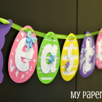 Easter Bunny Banner + Pinspiration Friday