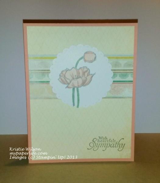 Card 2 - SU Simply Sketched Sympathy