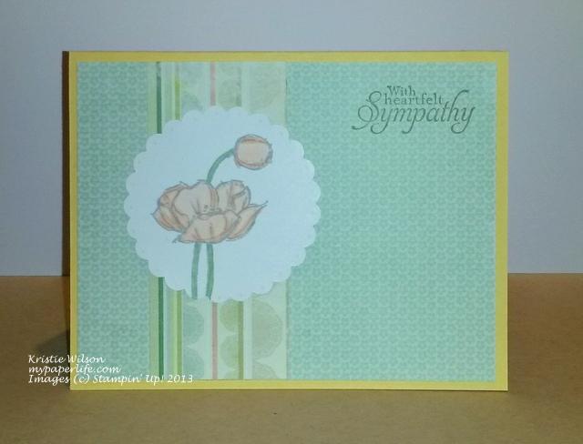 Card 3 - SU Simply Sketched Sympathy