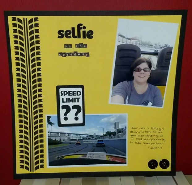 Page 6-May 2014 Selfie on the Speedway Disney