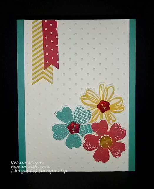 Card 19-June 2014 SU Tri Color Flower Shop