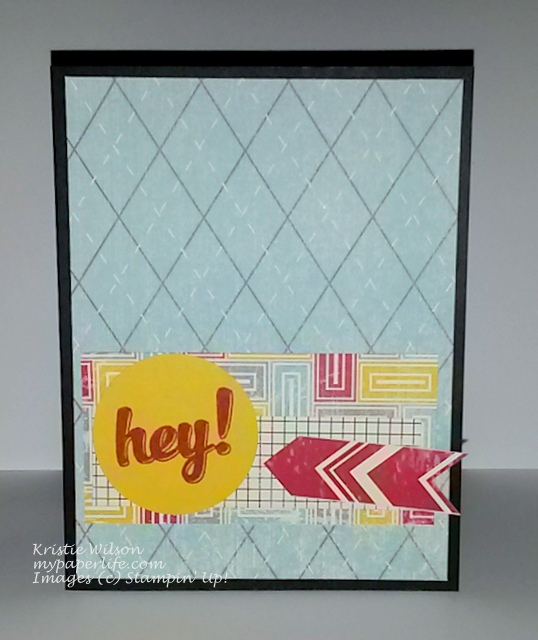 Card 6-June 2014 SU Hi There Flashback