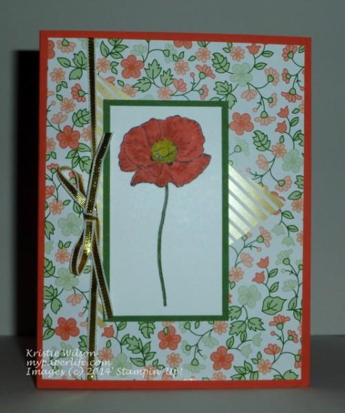 2014 Card 112 - SU Happy Watercolor