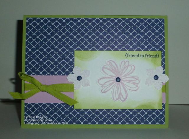 2014 Card 126 - SU Flower Shop, Petite Petals