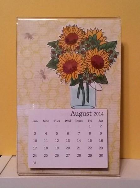 August Calendar 1