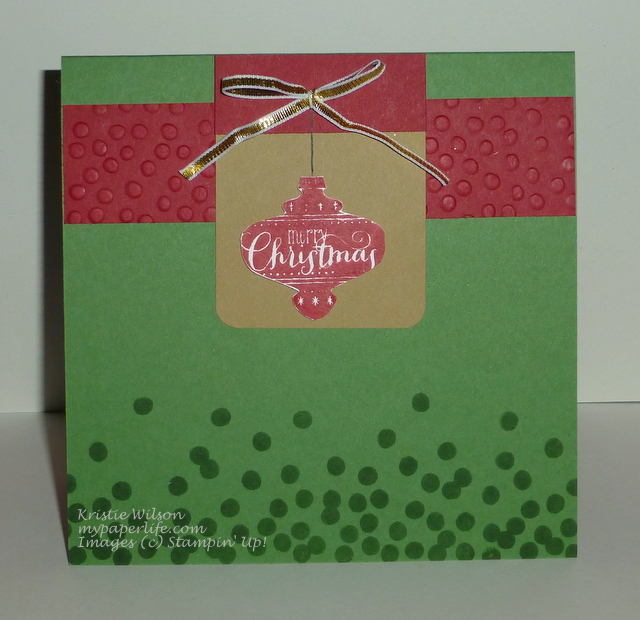 2014 Card 139 - SU Best of Christmas