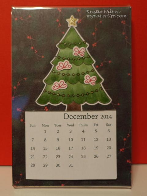 2014 December Calendar 1