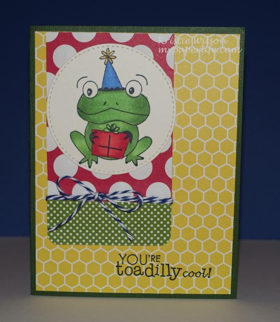 2015 Card 28 - Unity Birthday Toad
