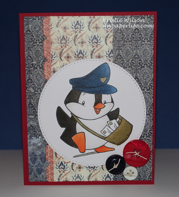 2015 Card 32 - Sugar Pea Happy Mail
