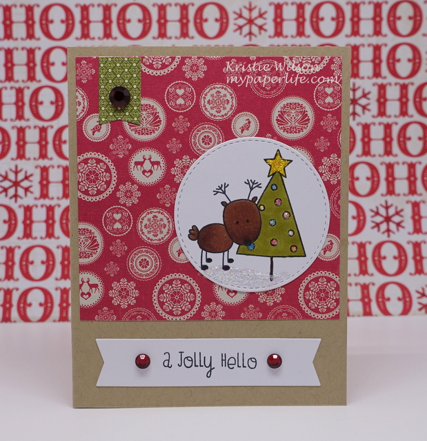 2015 Card 72 - MFT MSTN Christmas Cuteness