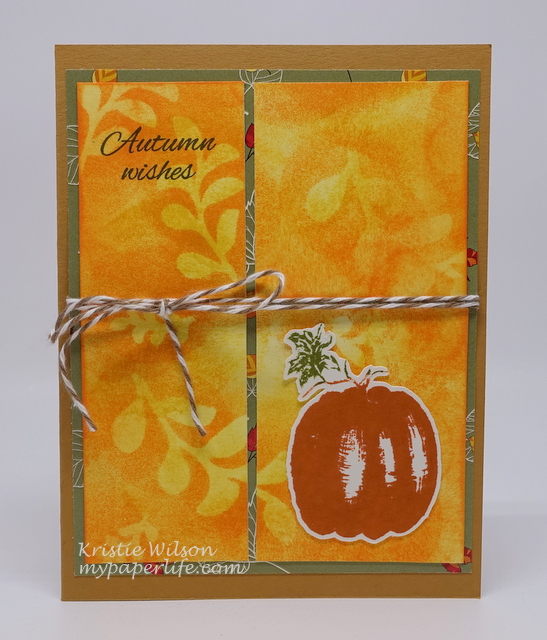 2015 Card 101 - Gina K The Simple Things