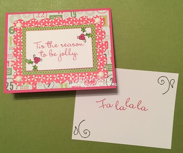 2015 Card 124 - CTMH Holly Jolly Season inside