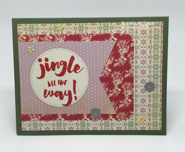 2015 Card 125 - Essentials by Ellen Holly Jolly