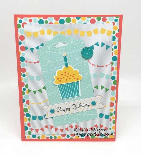 2016 Card 28 - SU Create a Cupcake