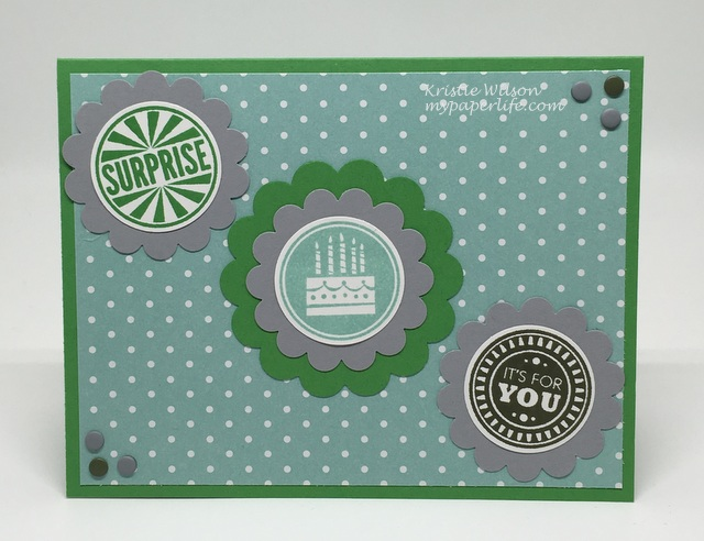 2016 Card 58 - Stampin Up Amazing Birthday
