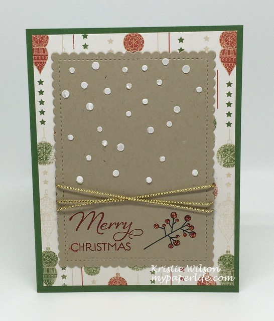 2016 Card 74 - Verve Stamps Merry Wishes