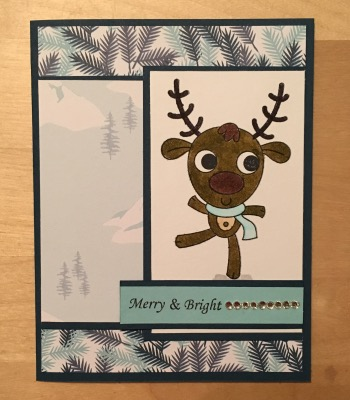 Your Next Stamp Winter Fun Reindeer
