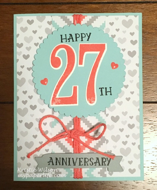 2016 Card 83 - SU Number of Years Anniversary
