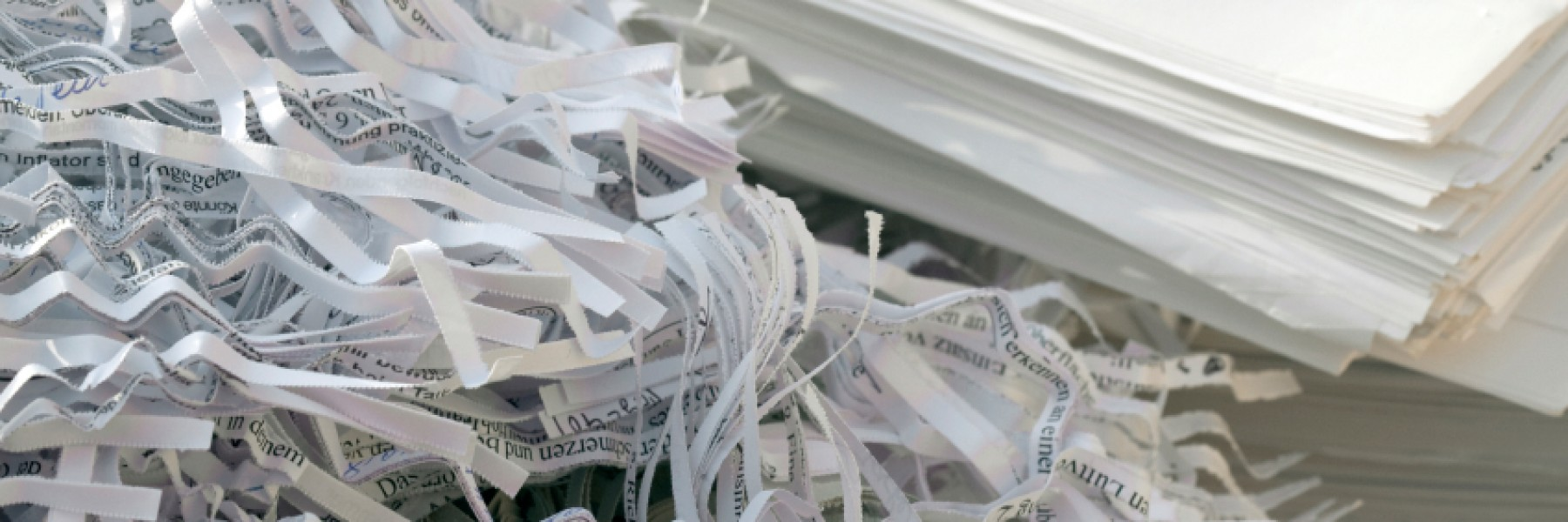 Reasons you should shred your documents