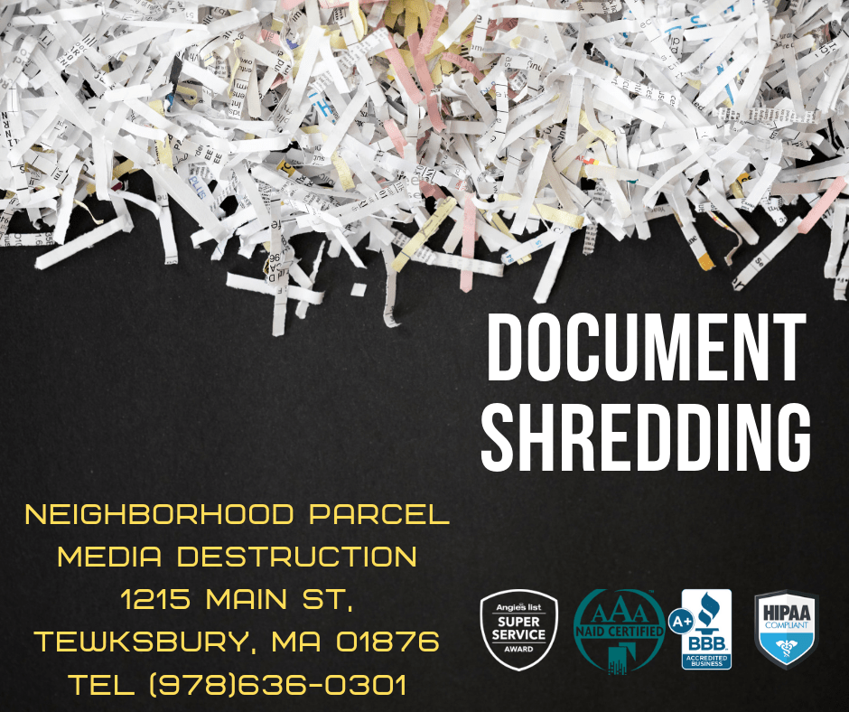 Fitchburg MA Shredding service company
