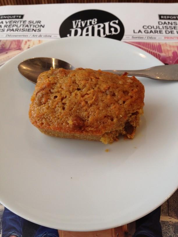 cafe loustic paris carott cake